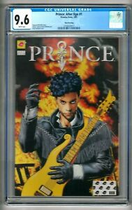 Prince: Alter Ego #1 (1991) CGC 9.6  White Pages 3rd Printing McDuffie - Bolland