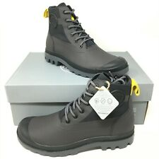 Palladium Men's Windbreaker Nylon Lace-up Closed Toe Charcoal Booties Size 8