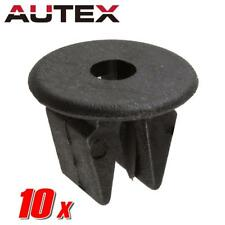 10x Nylon Front Bumper Body Side Fitting Clips Nut Retainer for Nissan Frontier