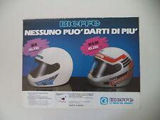 advertising Pubblicità 1987 CASCO HELMET BIEFFE B4 - B4M