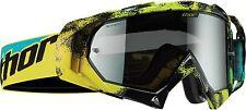 Thor Hero Wrapped Erosion Goggles Green/Yellow/Blue MX Motocross Off-Road Enduro