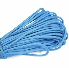 25FT 8m Multi III Stand 7 Cores 550 Paracord Parachute Cord Lanyard #30 Blue