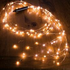 Outdoor LED Solar Lights String Waterfall Garden Decoration Fairy Holiday Party