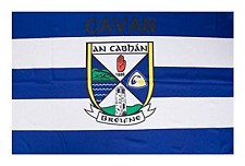 Cavan Official GAA Crest County Flag 152cm x 91cm (5foot x3 foot)