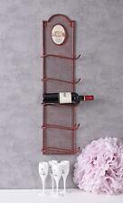 Melina Wine Cabinet Rack Bottle Stand Iron Shelf