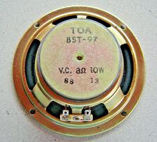 Haut-Parleur TOA BST-97 large bande 13cm pour HIFI Radio vintage 10w