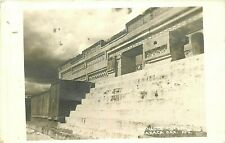 RPPC Mexico Postcard M346 Ruinas de Mitla Oaxaca Archaeological Mayan Ruins