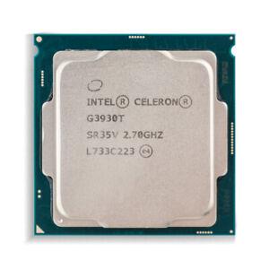 Intel Celeron G3930T Dual Core CPU 2.70 GHz 2M Cache SR35V LGA1151 Processor