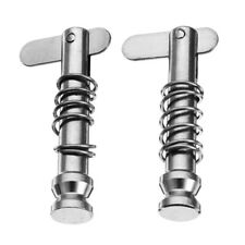 4x Stainless Steel 316 Quick Release Pin 6.3X40mm for Boat Bimini Deck Hinge
