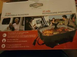 RoadPro 12V Portable Roaster RPSC200