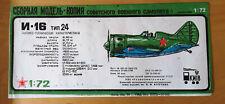 Polikarpov 1-16 Russian fighter plane kit