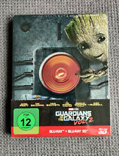 Guardians of the Galaxy Vol. 2 2D+3D Blu ray Steelbook OVP