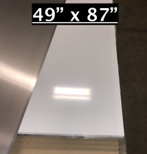 49 X 87 White Aluminum Sheet Flat 030 Thick Cargo Trailer Repair Etc