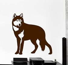 Vinyl Decal Wolf Animal Predator Cool Wall Sticker For Living Room (z3838)