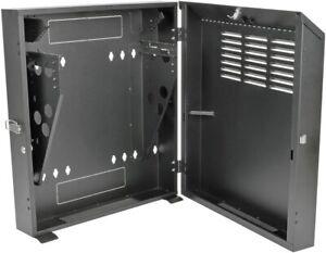 "Tripp Lite 6U Wall Mount Rack Enclosure, 150lb Capacity, Low Profile 11.5"" Depth"