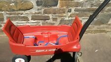 Radio Flyer Pathfinder Convertible Wagon Ride Toy with Seatbelts cupholders used
