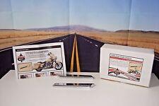 Klock Werks Saddlebag Hinge Inserts 35011054 Chrome LTD For Harley Tour 14-16 G2