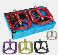 KRSEC Aluminum Mountain MTB Road XC AM Bike flat Pedal Bicycle Bearings Pedals