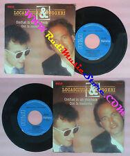LP 45 7'' MIMMO LOCASCIULLI ENRICO RUGGERI Confusi in un playback no cd mc dvd