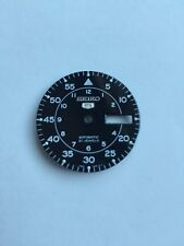Genuine Seiko SNK809 Black Pilot Military Dial Mod Parts