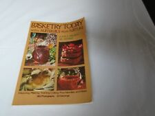 Basketry Today with Materials from Nature (softcover)
