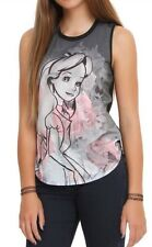 Disney Alice In Wonderland Roses Muscle Top Shirt Size Small