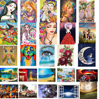 5D DIY Full Drill Diamond Painting Drawing Art Wall Craft Kit Decors Home Gifts