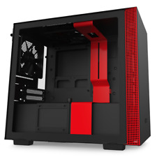 NZXT H210i Mini Tower Gaming Case - Red USB 3.0
