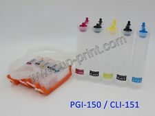 5colors 150 151 Continuous Ink system CISS IP7220 MG5420 5520 6420 MX722 IX6820