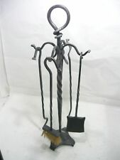 tool SET from camino fireplace 4 pcs. wrought iron