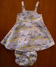2PC SUMMER DRESS BY GYMBOREE BEACH PRINT