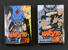 Shonen Jump manga: Naruto. Vol. 70 & 71 by Masashi Kishimoto - paperback - RG
