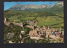 SEYNE-les-ALPES (04) VILLAS & EGLISE vue aérienne en 1967