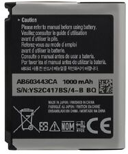 NEW OEM SAMSUNG AB603443CA Behold T919 Gravity 2 T469 Instinct S30 M810 BATTERY