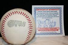 Red Sox David Ortiz Autographed 2007 World Series Baseball W/CERTIFICATE