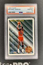 1993-94 Fleer Basketball Michael Jordan League Leaders #224 PSA 10