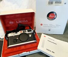 New ListingGood condition Leica M6 Classic 35mm Rangefinder Film Camera Silver body