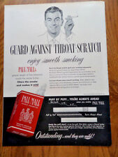 1949 Pall Mall Cigarette Ad Lot of 6 Ads