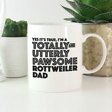 More details for rottweiler dad mug: funny gift for rottweiler owners & lovers! rottweiler gifts