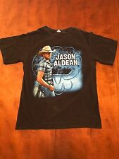 Jason Aldean Concert T Shirt Medium 2011 My Kinda Party Small Mark On Front
