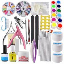 manucure professionnel poudre acrylique Nail Art Kit UV Gel Primer polonais