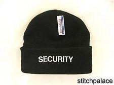 Seguridad bordado Acrílico Sombrero Talla Única