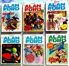 ALAN FORD serie originale - Lotto B (57-64-76-82-86-88).. vedi