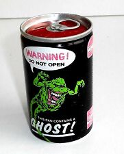 Vintage 1989 Ghostbuster ~ Wimpy ~ COCA COLA ~ Ghost in a Can ~ ONU-Ouvert * Rare *
