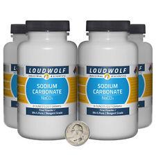Sodium Carbonate 2 Pounds 4 Bottles 99 Pure Reagent Grade Fine Powder