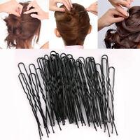 50 pcs Fashion Women U Shape Hair Bun Stick Bobby Pins Clip Barrette Hairpin