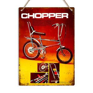 CHOPPER Raleigh Bike Vintage Advert Retro Metal Tin Sign Plaque Garage Man Cave
