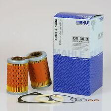 Ölfilter BMW R100GS R100GS Paris Dakar Mahle OX36D oil filter Filtro de aceite