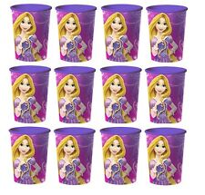 Disney Tangled Rapunzel Lot of 12 16oz Party Plastic Cup ~Party Favor Supplies
