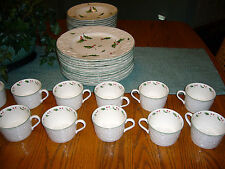 Mikassa Seasons Holly English Countryside Service for 12 Many Extra Pieces